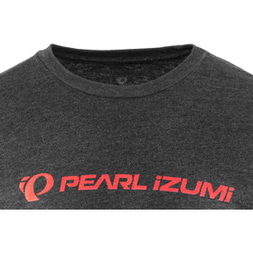 PEARL iZUMi Graphic Tee Men static logo heather black